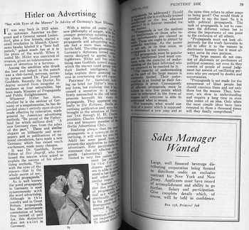 Flashback to 1933: US ad industry digs Hitler / Boing Boing