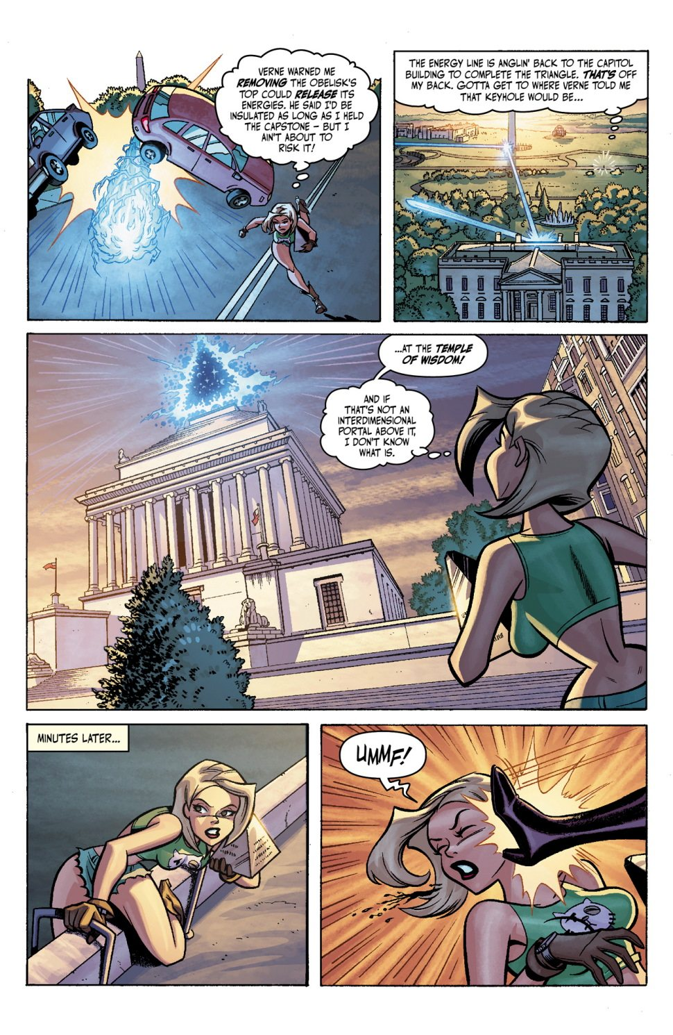 Lorna Relic Wrangler Upcoming Comic Book Preview