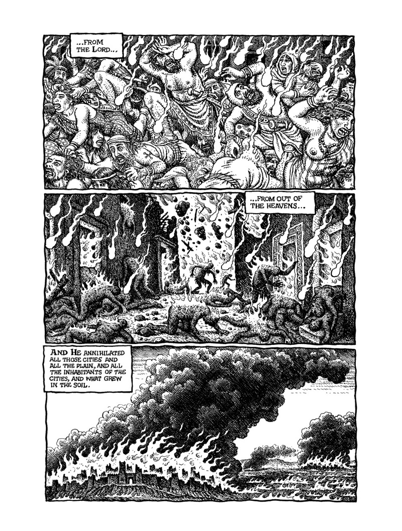Exclusive sneak peek at ch 19 from the book of genesis illustrated exclusive sneak peek at ch 19 from the book of genesis illustrated by r crumb boing boing fandeluxe Gallery