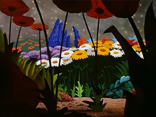 ... often study the backgrounds more that the animated characters