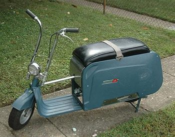 Folding Scooter From The 1960s Boing Boing