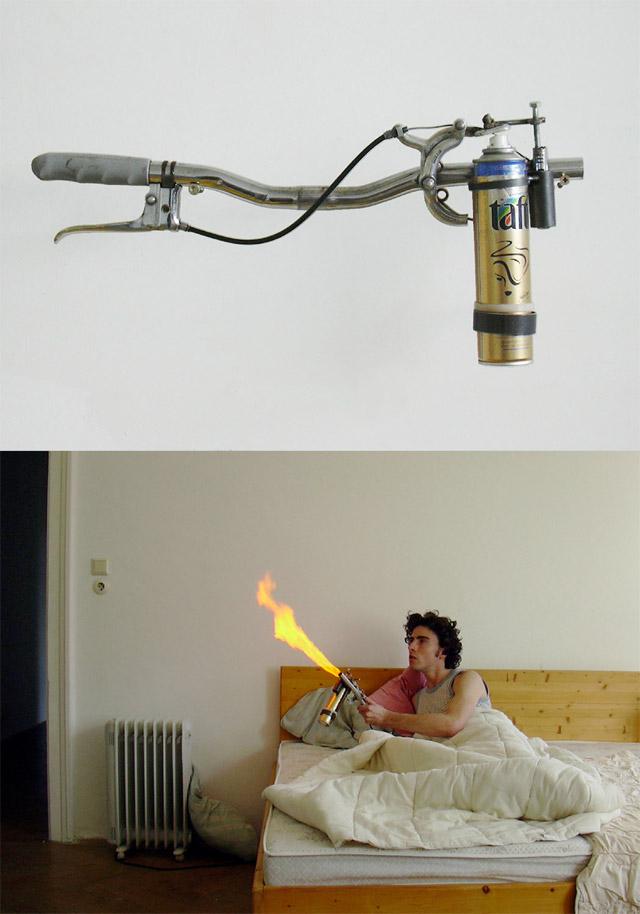 Diy как сделать напалм из пенопласта