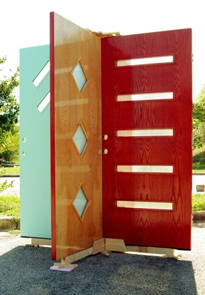 Modern front door styles reproduction century modern - Mid century front door ...