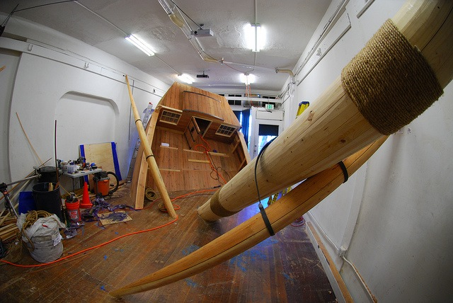 Have Fun In A Capsized Ship At Machine Project In Los