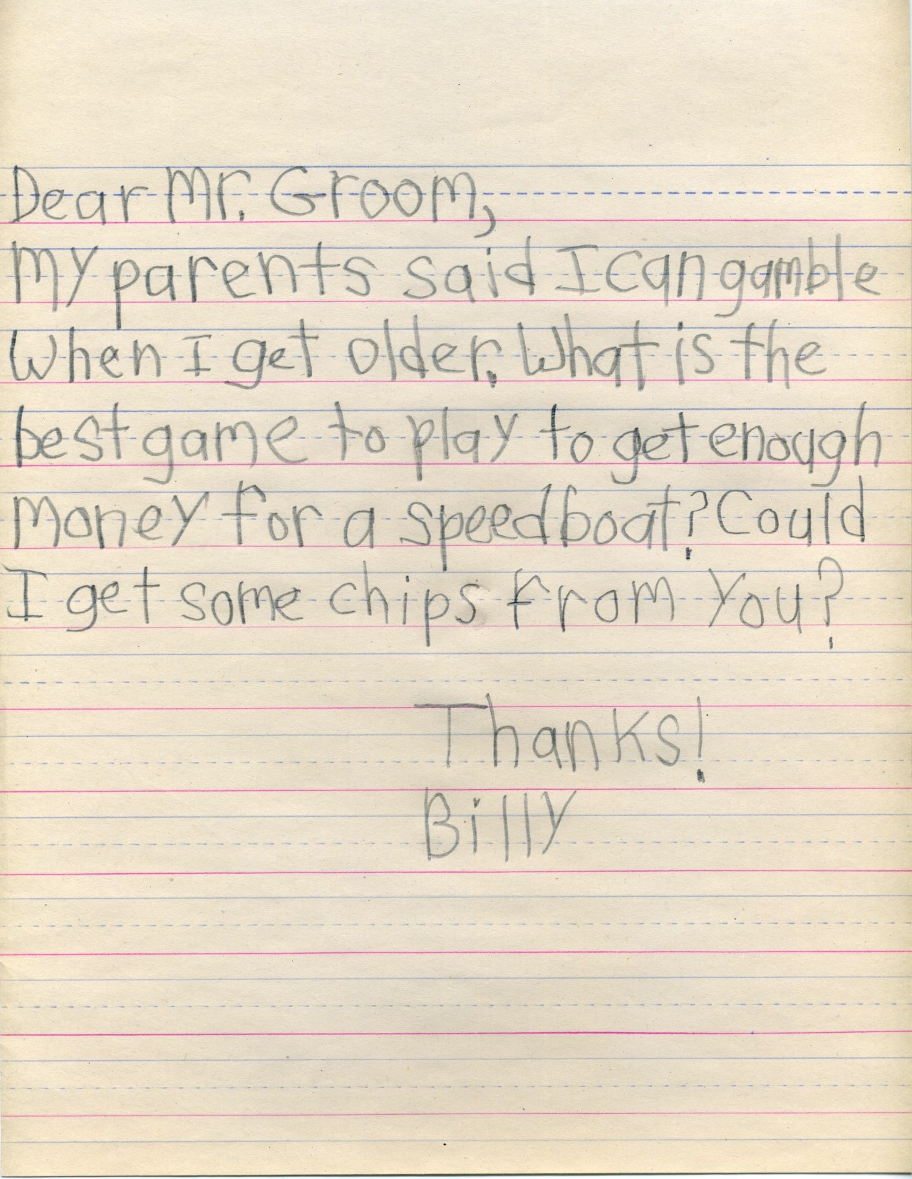 Little Billy S Letters To Famous And Infamous People Boing Boing