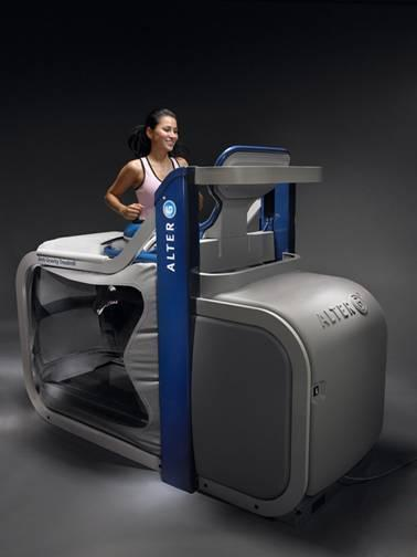 A Bouncy Anti Gravity Workout With The New Alterg