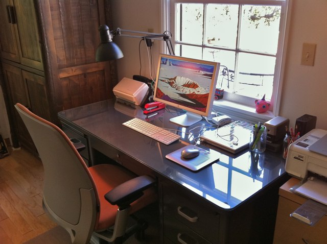 Herman miller blog on mark39s workspace boing boing for Evernote scansnap troubleshooting