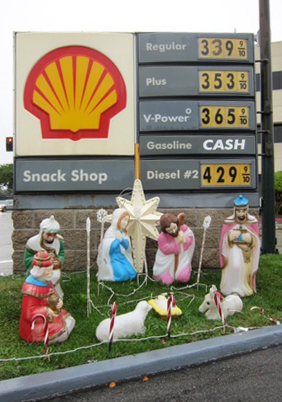 Petroleum nativity boing boing for Farcical root word
