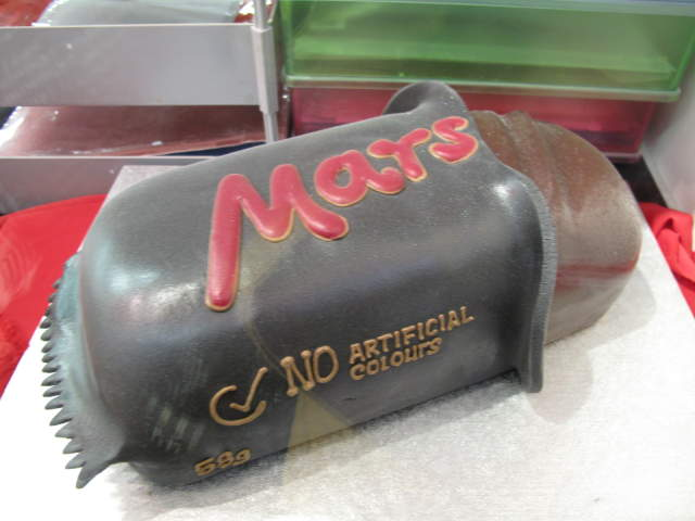 Cakes That Resemble Planet Mars - Pics about space