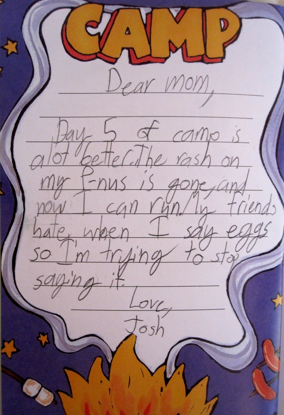 Funny Book PS I Hate It Here Kids Letters From Camp  Boing Boing
