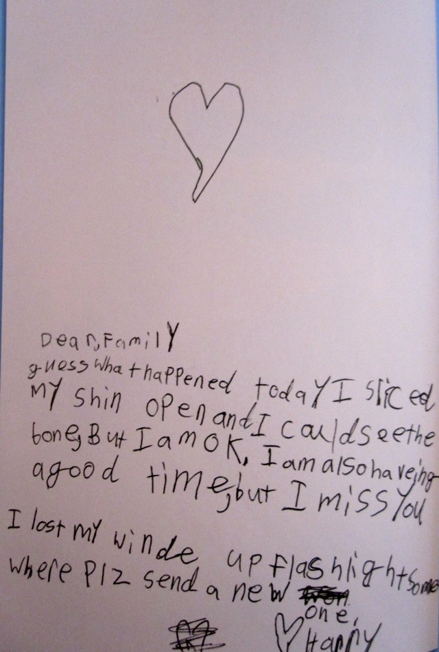 Funny Book P S I Hate It Here Kids Letters From Camp