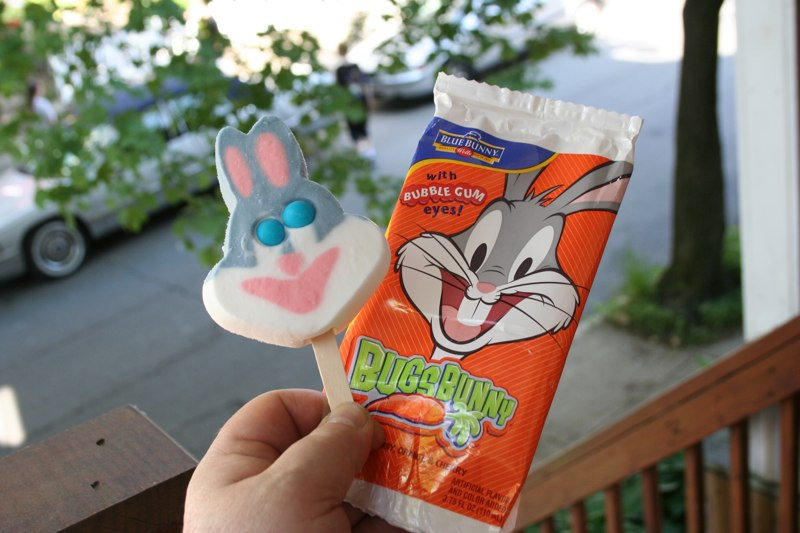 bugs bunny popsicle boing boing