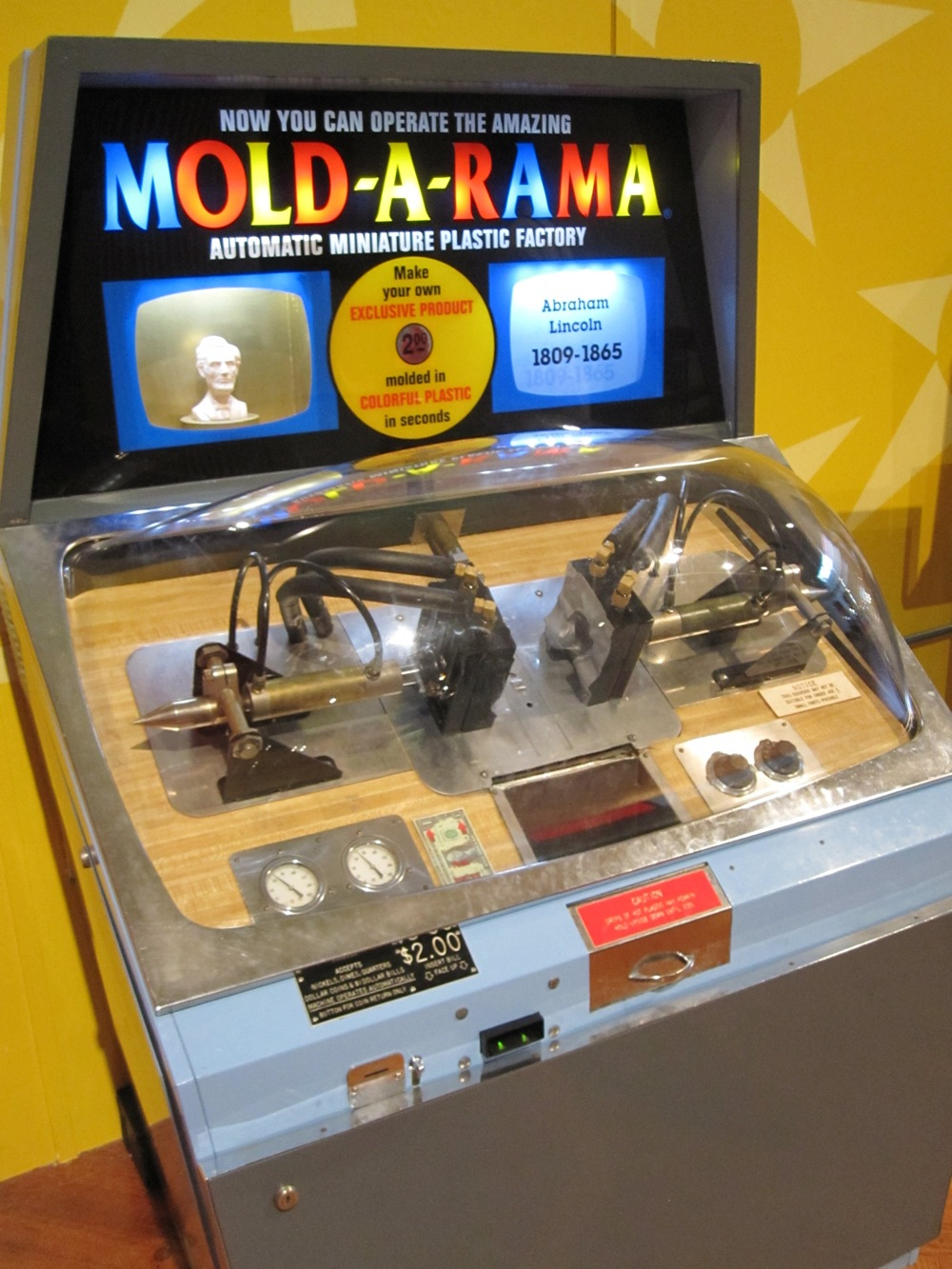 mold a rama machines at the henry ford museum boing boing. Black Bedroom Furniture Sets. Home Design Ideas