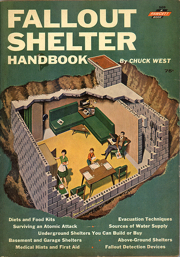 Fallout shelter handbook from 1962 boing boing for Classic underground house