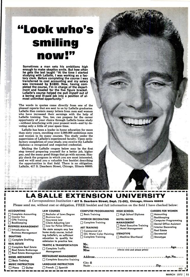 Favourite Ads in a Comic? - Page 2 La-salle-smiling