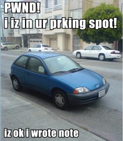 Lol Dick Car