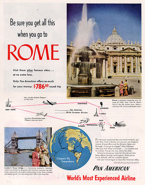Travel before it was awful boing boing for American ad agencies