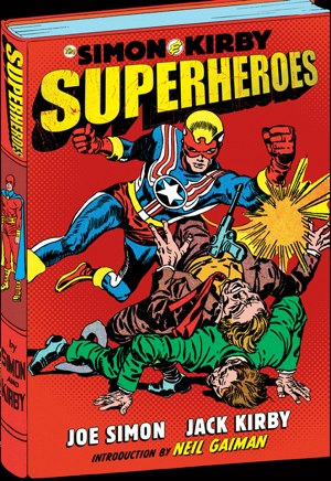 Simon & Kirby Superheroes anthology preview -- a Boing ...