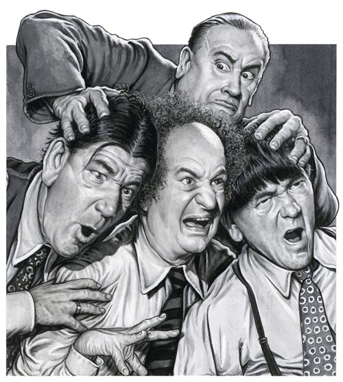 three stooges lg horny gay truck drivers. Here is one of the pinups from the newest set of ...