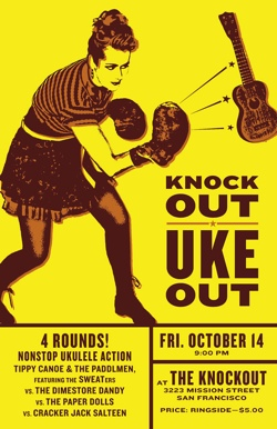 Uke Out Poster4X6