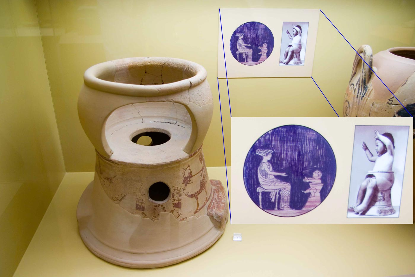 Ancient Greek Potty Training Pottery Device Boing Boing