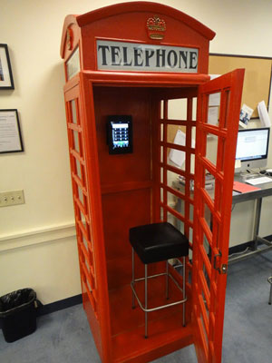 British Phone Booth Updated With Skype Boing Boing