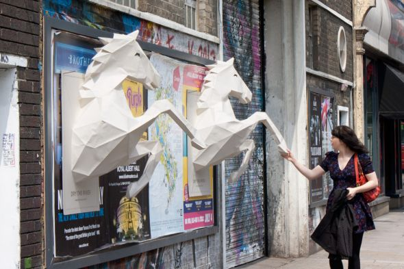 Dry the River - No Rest: 3D paper-crafted horses.jpeg
