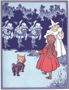 the wizard of oz by l frank baum an allegorical tale of the populist movement The historian's wizard of oz: reading l frank baum's covers the populist movement very well and how baum could the wizard of oz as political/economic allegory.
