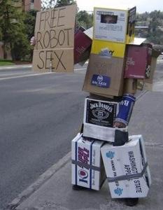 No sex for robots?