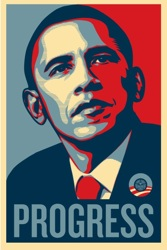 Shepard Fairey's Obama Poster