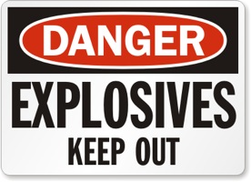 Img Lg S Explosives-Keep-Out-Danger-Sign-S-1816