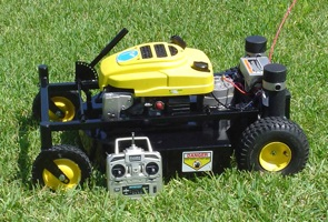 Remote Control Lawn Mower Boing Boing
