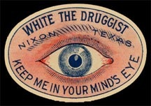 Poison Eye-Oval-Label