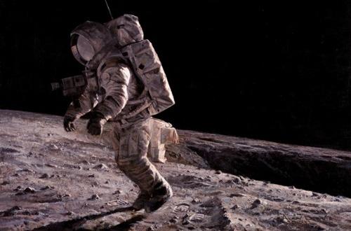 ancient astronaut on the moon - photo #16