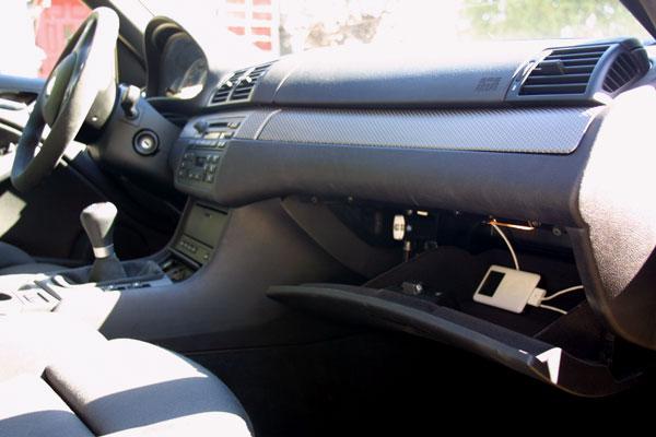 wo befindet sich der ipod eingang im handschuhfach car. Black Bedroom Furniture Sets. Home Design Ideas
