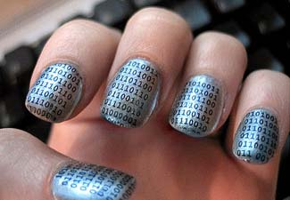 http://boingboing.net/images/binarymanicure.jpg