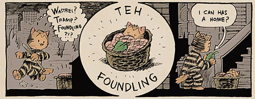 cats  more 1900s comics