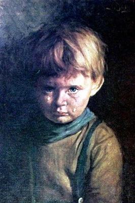 Hands Resist Him, написанная Биллом Стоунхэмом - одна из самых жутких картин, которую видело человечество.