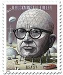 Bucky Fuller stamp