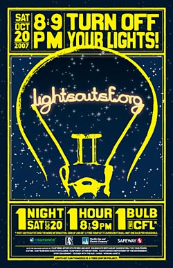 Lights Out San Francisco poster