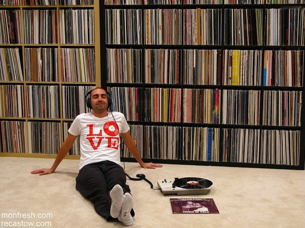 Attach Ikea Island To Floor ~ Rather impressive vinyl collection  Boing Boing