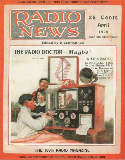 Doctor consults a child via AV media.