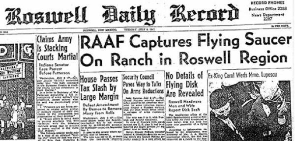 roswell ufo incident. Roswell UFO Incident