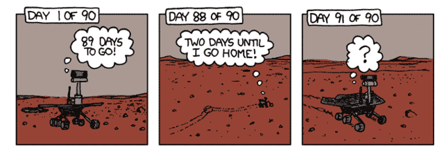 mars rover cartoon - photo #35