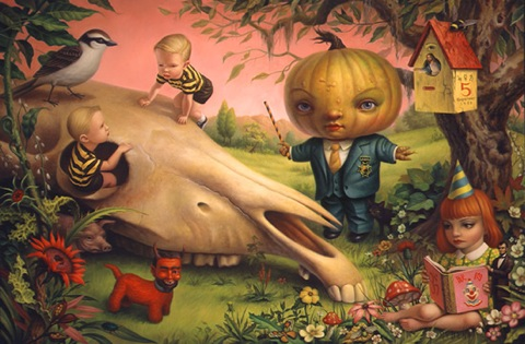Mark Ryden's art for Obama / Boing Boing