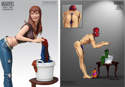 Mary Jane special edition statuette
