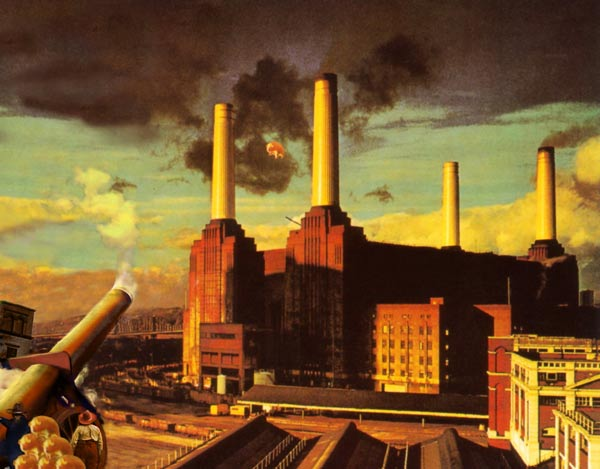 pink floyd animals album cover art. The cover to Pink Floyd#39;s