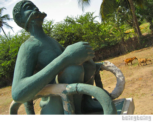 Bbtv world roots of voudun and slavery 39 s legacy in ouidah for Jardin gris voodoo shop conyers