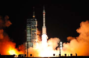 China spacecraft launched, space station and manned lunar ...