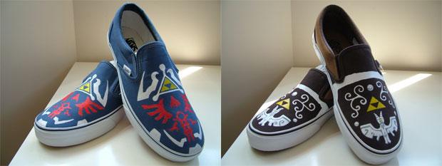 Low-top, Hyrule: Kyozo Kicks custom Legend of Zelda shoes